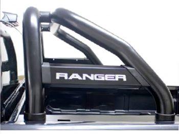 Ford Ranger 2016 - 2020+ Rollbar (Sports Bar) TILT Range 409 Stainless Steel PC Black