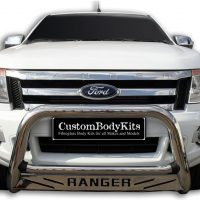 Ford Ranger 2012 - 2015 Nudge Bars Stainless Steel