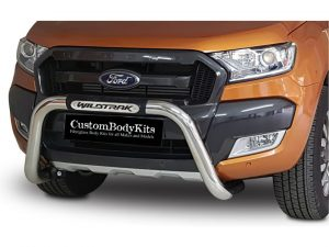 Ford Wildtrak 2016 - 2020+ PDC Friendly Nudge Bar Stainless Steel