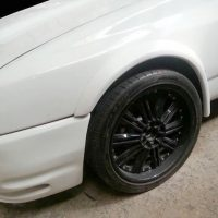 Ford Sierra Front Wheel Arches