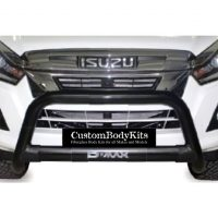 Isuzu RT85 2016 - 2020+ Nudge Bar 409 Stainless Steel Powder Coated Black
