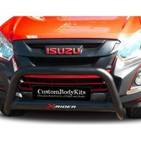 Isuzu RT85 X-Rider 2017 - 2020+ Nudge Bar 409 Stainless Steel Powder Coated Black