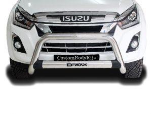 Isuzu RT85 2013 - 2021+ Nudge Bar Stainless Steel