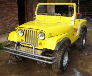 Jeep Wrangler CJ5 Body Kit