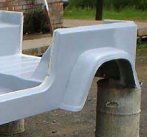 CJ-7 Rear Wheel Arch