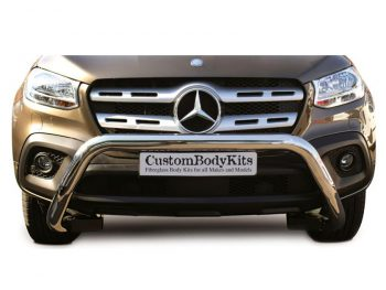 Mercedes Benz 2018+ Aftermarket X-Class Stainless Steel Nudge
