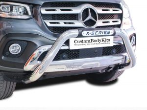 Mercedes Benz X - Class Nudge Bar - PDC Approved - Stainless Steel