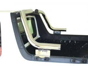 Nissan NP200 2010 - 2020+ Top Styling Bars Stainless Steel