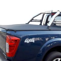 Nissan Navara 2006 - 2016+ Double Cab Clip On Covers (For Rollbars)