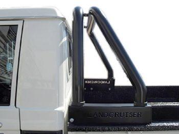 Toyota Landcruiser 2009 - 2020+ Rollbar - Single & Double Cab Pick Up - Powder Coated