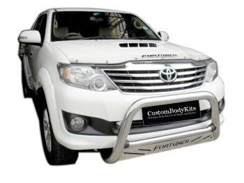 Toyota Fortuner 2005 - 2015 Nudge Bar Stainless Steel