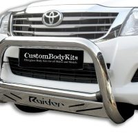 Toyota Hilux 2005 - 2015 Nudge Bars Stainless Steel