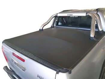 Toyota Hilux 2005 - 2015 Double Cab Clip On Covers (For Rollbars)
