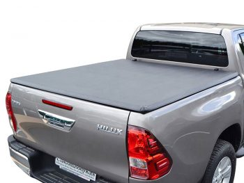 Toyota Hilux 2005 - 2015 Double Cab Clip On Covers (No Rollbars)