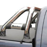Toyota Hilux 2005 - 2015 Rollbar (Sports Bar) with Oval Cross Members Stainless Steel