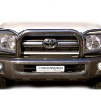 Toyota Landcruiser 70 2009 - 2020+ Stainless Steel Headlight Wrap Around