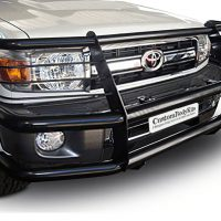 Toyota Landcruiser 70 2009 - 2020+ Black Coated Fullface Bullbar