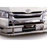 Toyota Quantum (Hi Ace) 2007 - 2019 Pre Facelift Bullbar Stainless Steel