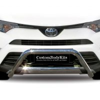 Toyota Rav4 2017 - 2019 Pre Facelift Nudge Bar Stainless Steel