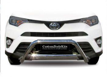 Toyota Rav4 2017 - 2019 Pre Facelift Nudge Bar Stainless Steel