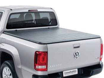 VW Amarok 2010 - 2020+ Double Cab Clip On Tonneau Cover (No Rollbars)