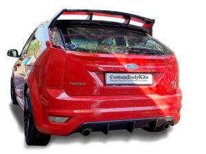 2014-2018 Ford Focus ST MKII Rear Diffuser