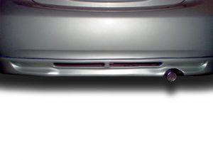 09 Toyota Yaris Sedan Rear Bumper Spoiler