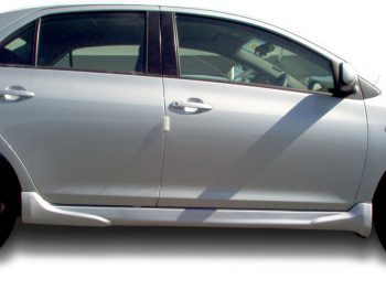 2009 Yaris Sedan Side Skirts