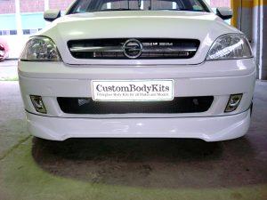 Opel Corsa Utility Front Spoiler