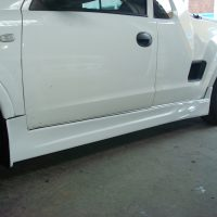 Opel Corsa Utility Side skirts