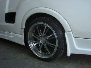 Opel Corsa Utility Side Skirt and rear Spoiler