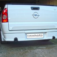 Opel Corsa utility Rear Spoiler