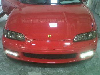 MX6 Front Bumper