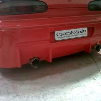 MX6 MPS Rear Bumper