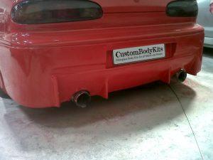 MX6 MPS Rear Bumper