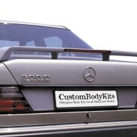 Mercedes Benz W124 Boot Spoiler