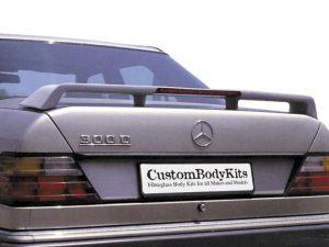 Mercedes Benz W124 Boot Spoiler
