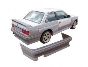 BMW E30 M3 Style Wide Body Rear Bumper