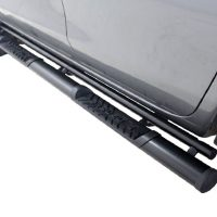 Isuzu 2013 - 2020+ Double Cab Side Steps Black
