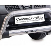 Nissan NP300 2009+ Nudge Bar Stainless Steel