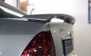 Toyota Corolla E120 Boot Spoiler with Brake Light