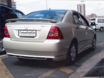 Toyota Corolla E120 Rear Bumper Spoiler
