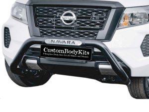 Nissan Navara D23 2021+ Nudge Bar Black