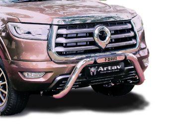 GWM P-Series 2021+ Nudge Bar Stainless Steel