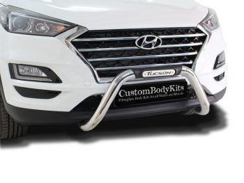 Hyundai Tucson 2016+ Nudge Bar Stainless Steel
