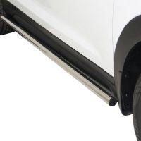 Hyundai Tuscan 2016+ Side Bars Stainless Steel