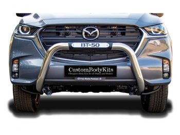 Mazda BT50 Facelift 2021+ Nudge Bar Stainless Steel (NEW)